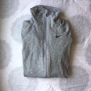 Nike dri-fit zip-up